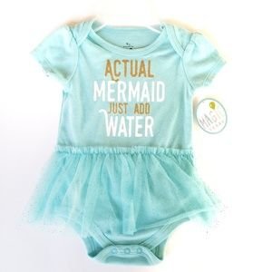 Other - NWT Mermaid tutu dress onesie outfit